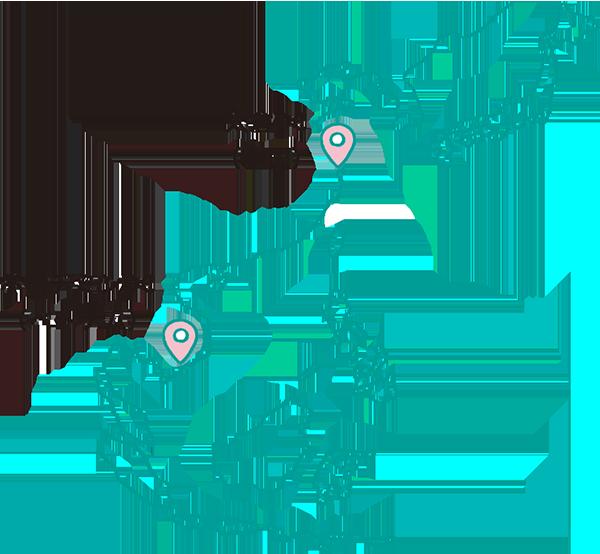 太倉DC(中国) 桃園DC(台湾) ホーチミンDC(ベトナム)